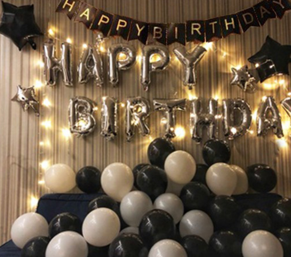 How to Decorate a Hotel Room for his Birthdays